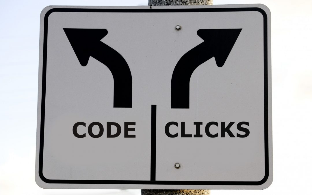 Clicks or code sign