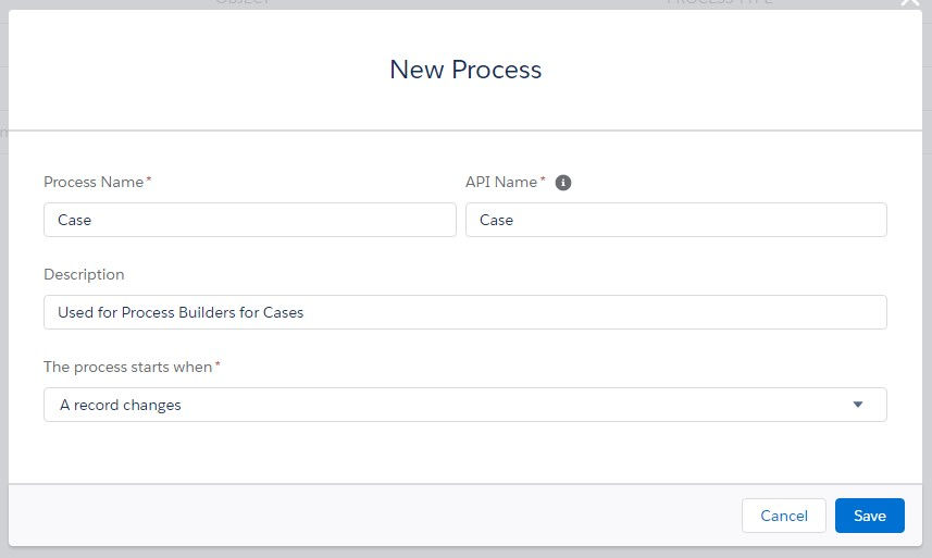 Case Process Builder